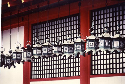 japan temple lanterns | by FriskoDude