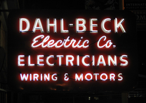 Dahl-Beck Neon Sign | by Stewf