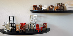 Miniature chair collection. | by suZen.