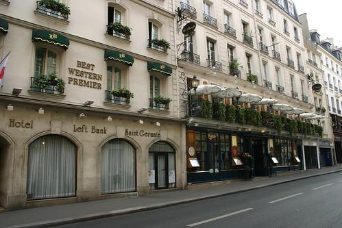 Hotel Left Bank St Germain Paris