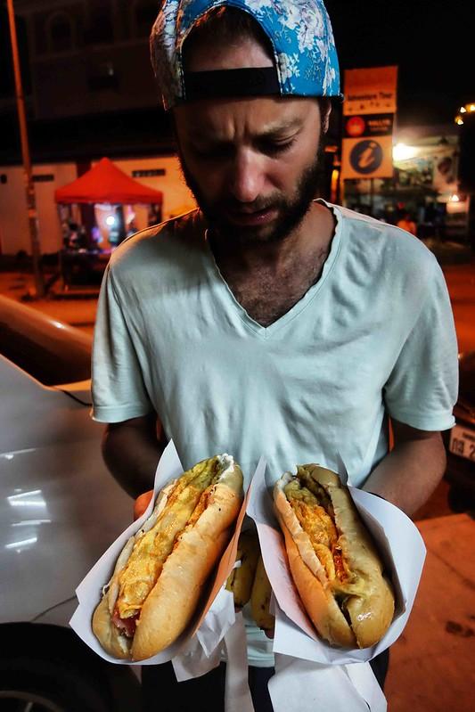 Vang Vieng - Sandwichs