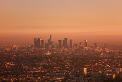 Los Angeles At Sundown | by Marcy Reiford