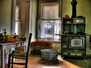 Kitchen of the Carter Family Farmhouse | by steve_rob