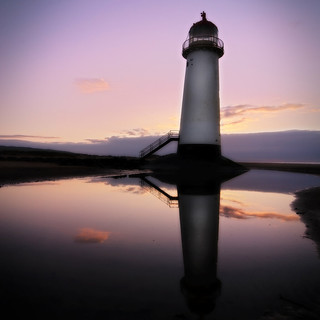 Talacre Lighthouse Reflections | by almardigital