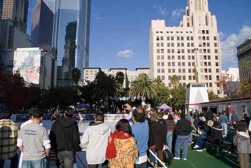 ice skating at pershing square sony dsc eric richardson flickr. Black Bedroom Furniture Sets. Home Design Ideas