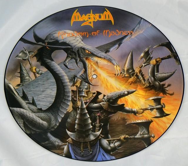 "MAGNUM KINGDOM OF MADNESS PICTURE DISC 12"" LP VINYL"