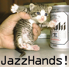 Jazz hands | by image_macro