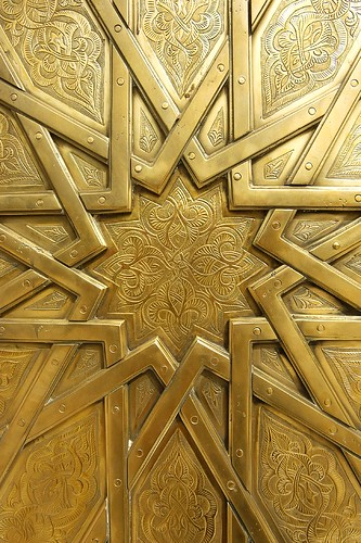 Brass Door Relief Royal Palace In Fes Flickr Photo