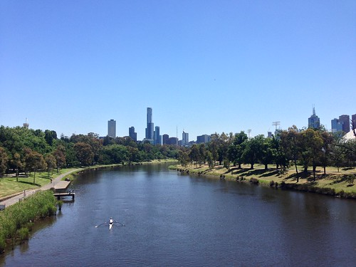 Melbourne CBD view