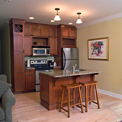 Condo kitchen | by Skaneateles Suites