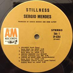 SERGIO MENDES & BRASIL '66:STILLNESS(LABEL SIDE-A)