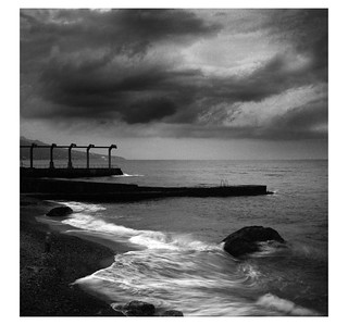 Foros bay (BW version) | by Richard Frances