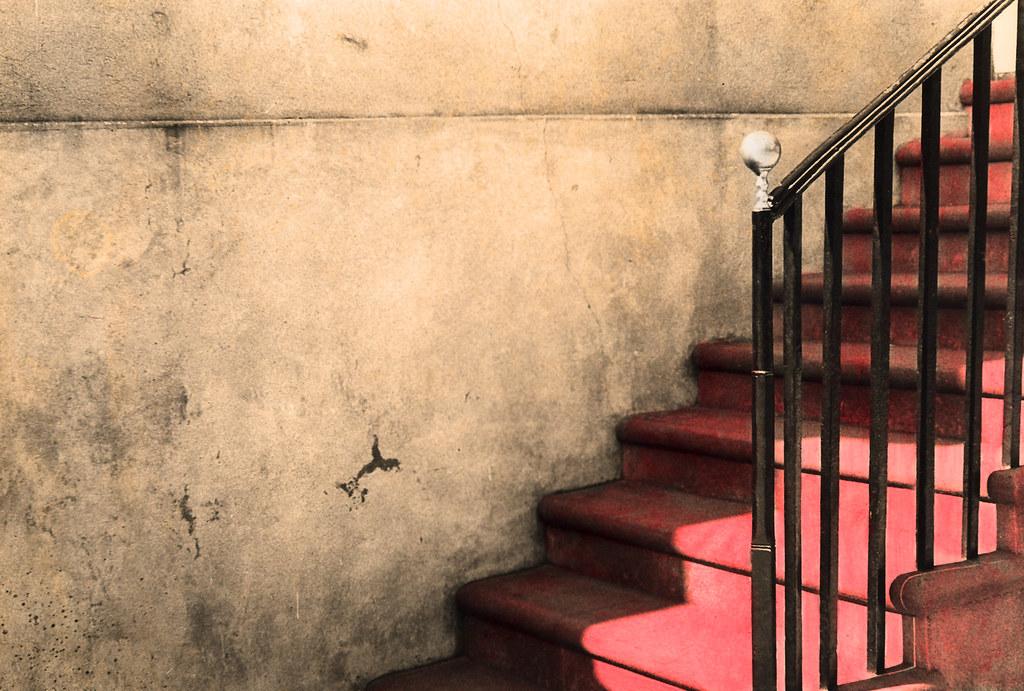 Staircase 3, Charleston, South Carolina 1970s