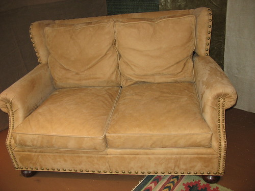 Tan Leather Sofa Living Room