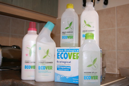 Green cleaning products | by Shelley and Alan