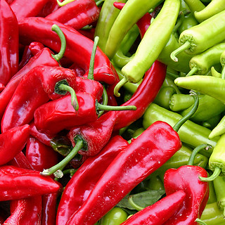 Red Green Chili Peppers | by svenwerk