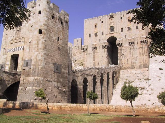 Aleppo Castle, Syria
