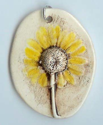 blacke eyed susan daisy pendant | by maryharding
