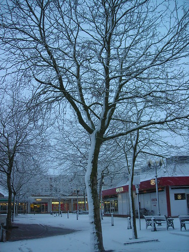 Mell Square in the Snow | by tim ellis
