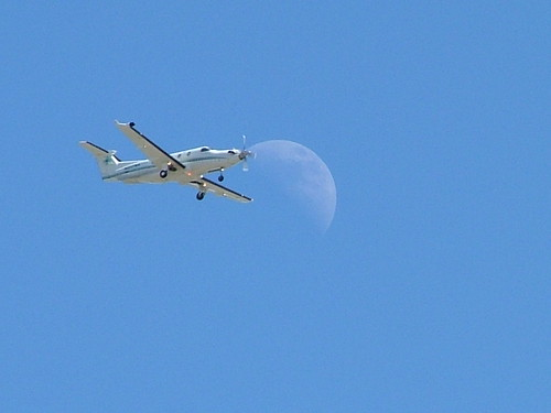 Just the Plane Moon | by Wilgar