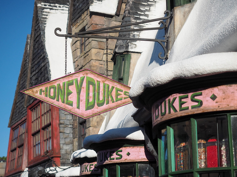 Honeydukes in Hogsmeade at the Wizarding World of Harry Potter