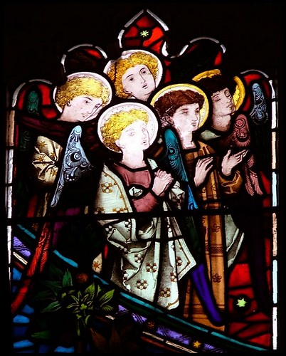 Norfolk angels watch the Ascension of Christ | by Simon_K