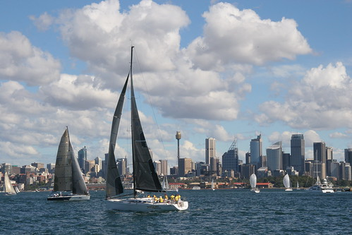 Yacht Race in Sydney Harbour | by webmink
