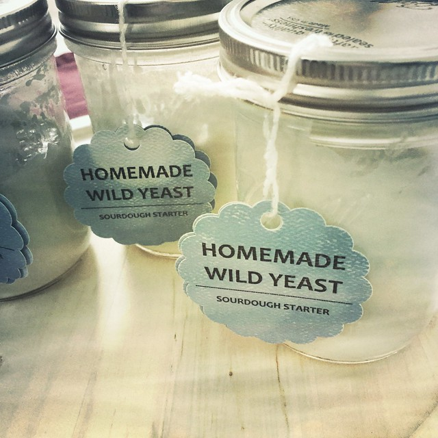 Wild Yeast Sourdough Starter Gift Jars