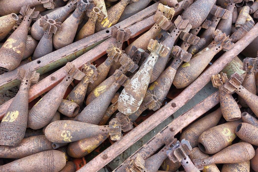 Plaines des Jarres - munitions