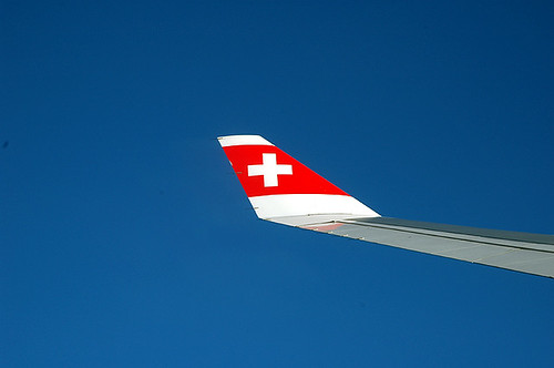 Swiss Air Lines A330-200 winglet | by caribb