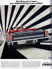 1960s Advertising - Magazine Ad - Ford Fairlane Convertible (USA) | by ChowKaiDeng