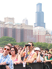 Watching The Pixies, Lollapalooza, 2005 | by panopticon