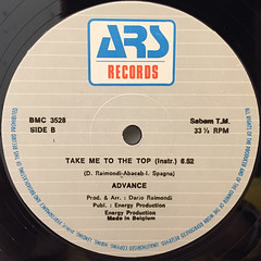 ADVANCE:TAKE ME TO THE TOP(LABEL SIDE-B)
