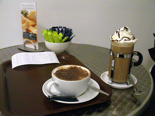 Coffee at Debenam's