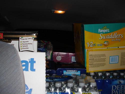 Hurricane Katrina - Supplies We Brought
