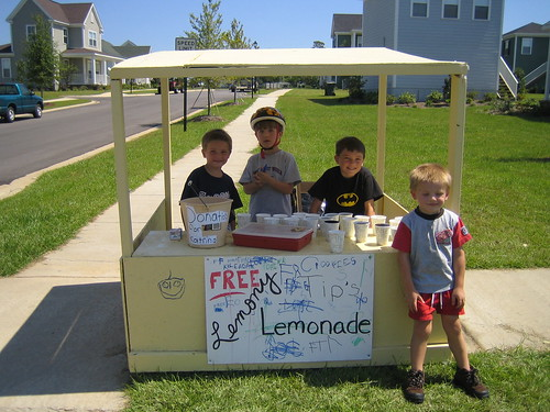 Lemonade Stand - Raising Money for Katrina Victims | by shawnson