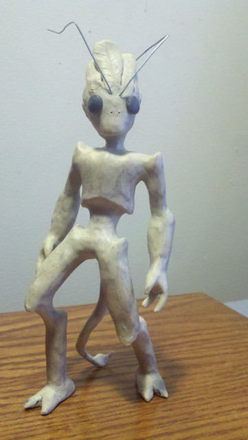 the clay alien