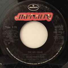 TEARS FOR TEARS:SHOUT(LABEL SIDE-B)