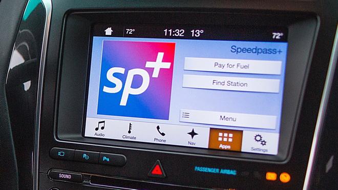 2017 CES - Ford ExxonMobil Speedpass+? app