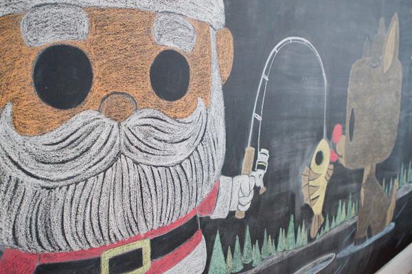 Funko chalkboard art