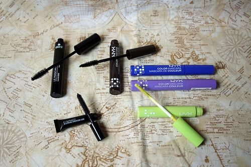 2016 make-up inventory: mascara