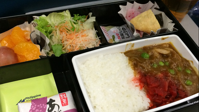 Airplane Food to Philippines