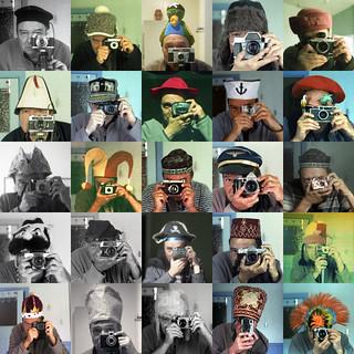 25 cameras, 25 hats