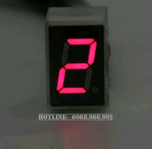 Báo số điện tử LED - Số 2