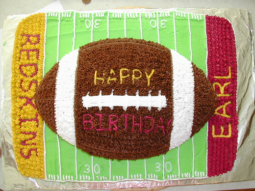 Football Cake for Earl's 30th | by angegreene