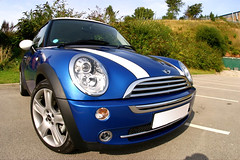 My new Hyper Blue mini | by 18percentgrey