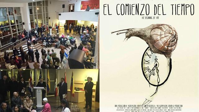 Inauguración de la Semana de Cine de América Latina y el Caribe  en el Centro de Arte Contemporáneo Çağdaş, en Ankara, Turquía