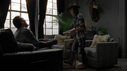 TWD 7_7 CARL AND NEEGAN