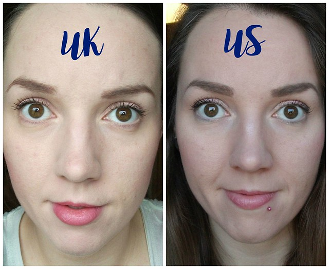 UK vs US Comparison L'Oreal Infallible Matte Foundation