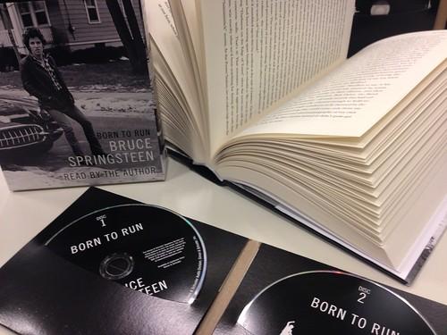 Audiolibro de Bruce Springsteen